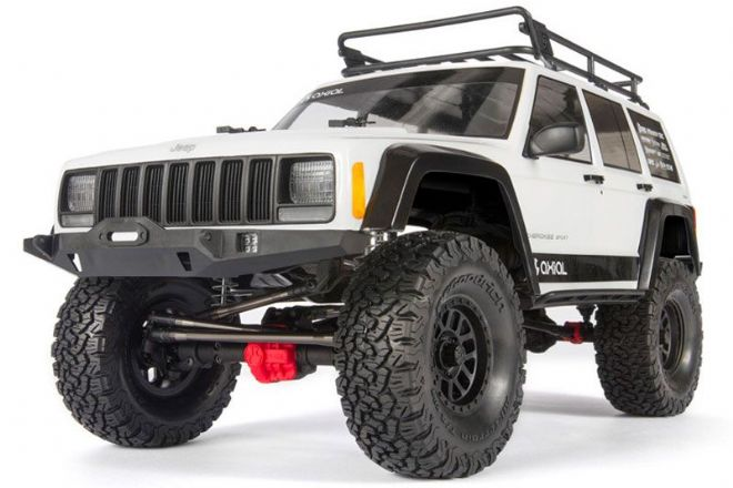 AXIAL AX90046  SCX10 II JEEP CHEROKEE 4WD KIT ROCK CRAWLER 1/10th
